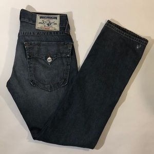 "True Religion ""Straight"" Jeans"